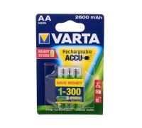 Аккумуляторы Varta 2600 mAh (2 шт)