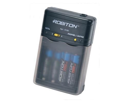 Универсальное зарядное устройство Robiton Smart S100