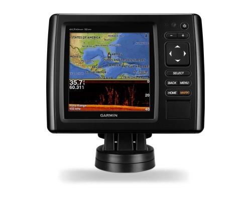 Эхолот с картой глубин Garmin echoMap CHIRP 52dv/cv GPS