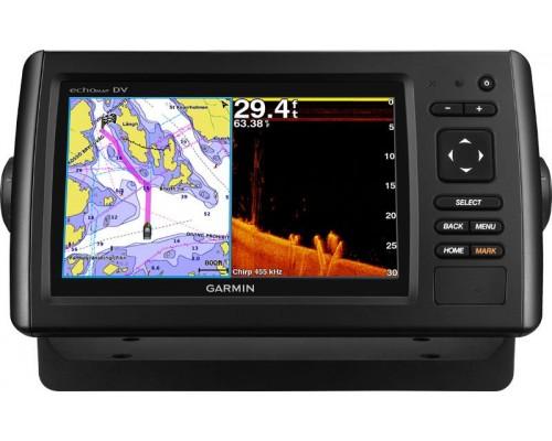Эхолот с картой глубин Garmin echoMap CHIRP 72dv/cv GPS