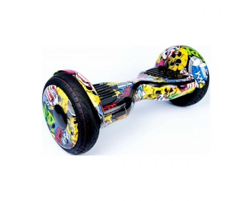 Гироскутер Smart Balance Wheel Premium APP желтый граффити (Хип-Хоп)