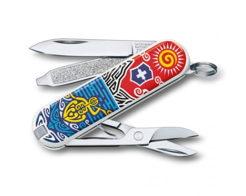 "Нож-брелок Victorinox Classic ""New Zealand"" (0.6223.L1806)"