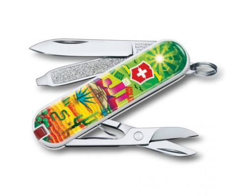 "Нож-брелок Victorinox Classic ""Mexican Sunset"" (0.6223.L1807)"