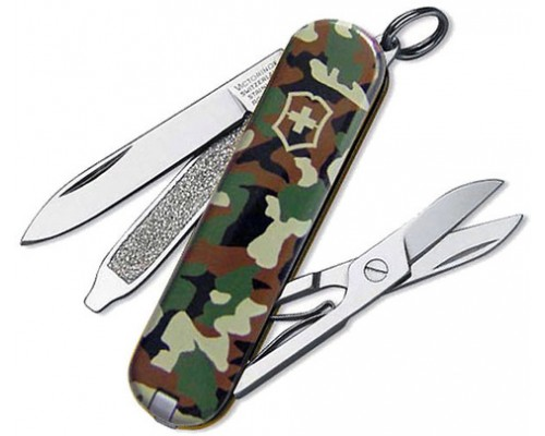 Нож-брелок Victorinox Classic Camouflage (0.6223.94)