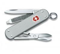 Нож-брелок Victorinox Classic Alox Silver (0.6221.26)