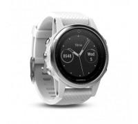Умные часы Garmin Fenix 5s белые с белым ремешком