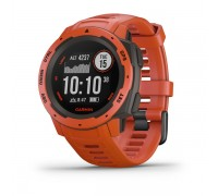 Умные GPS-часы Garmin Instinct Flame Red
