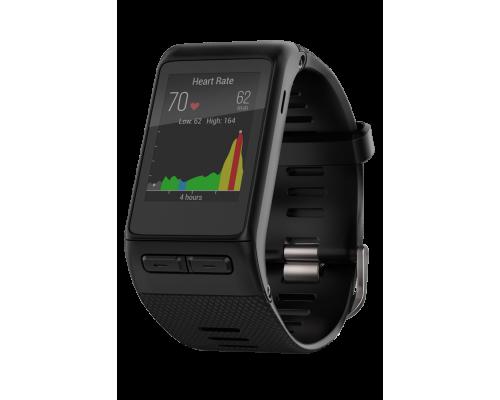 Умные часы Garmin Vivoactive HR black со встроенным пульсометром