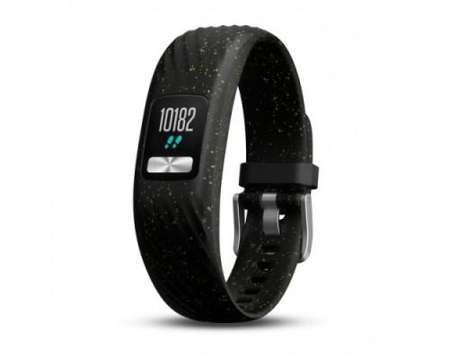 Фитнес-браслет Garmin vivofit 4 черный с блестками стандартного размера (S/M)