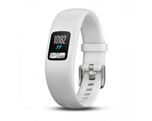 Фитнес-браслет Garmin vivofit 4 белый стандартного размера (S/M)