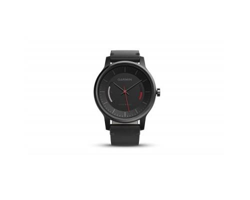 Умные часы Garmin vivomove Classic черные с кожаным ремешком