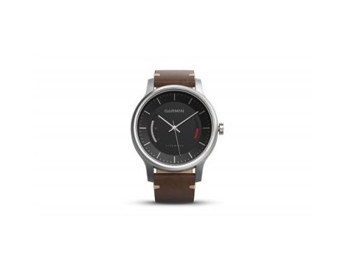 Умные часы Garmin vivomove Premium с кожаным ремешком
