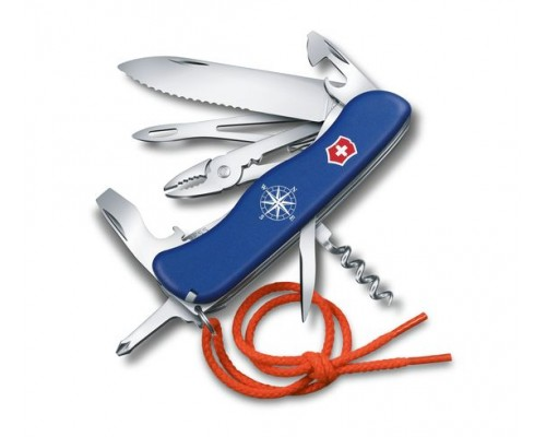 Туристический нож Victorinox Skipper, серрейторное лезвие (0.8593.2W)