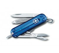Нож брелок Victorinox Signature Blue Trans (0.6225.T2)