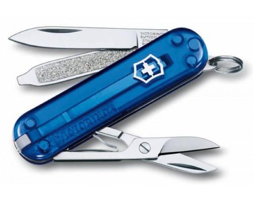 Нож-брелок Victorinox Classic Blue Trans (0.6223.T2)